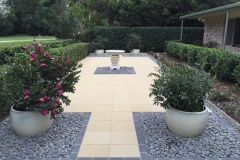 Adbri paved outdoor space
