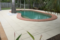 Pavescape-Landscapes Adbri paved pool area