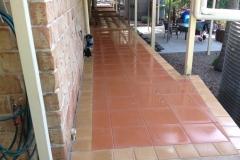 Adbri paved pathway