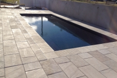 Pavescape-Landscapes Paved pool area